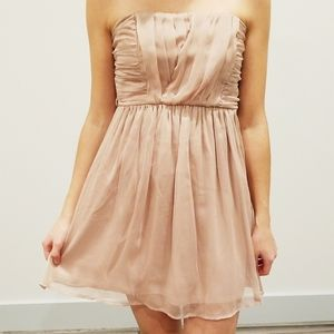 Blush pink whimsical party dress